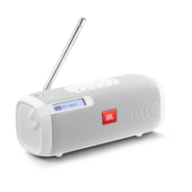 JBL Tuner hordozható Bluetooth hangszóró rádióval, fehér