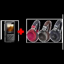FIIO X3 DSD lejátszó/DAC + ATH-MSR7 fejhallgató