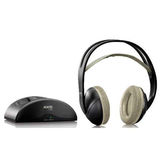 AKG K912 vezeték nélküli fejhallgató, fekete