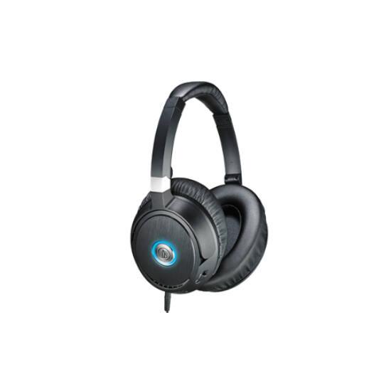 Audio-technica ATH-ANC70 aktív zajszűrős fejhallgató, fekete