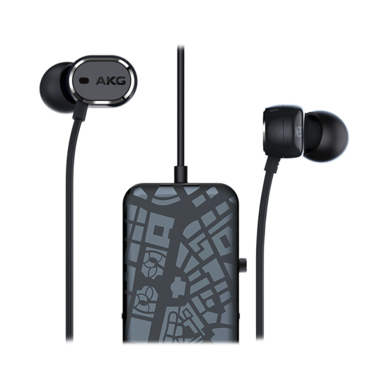 AKG N20NC aktív zajszűrős fülhallgató, fekete