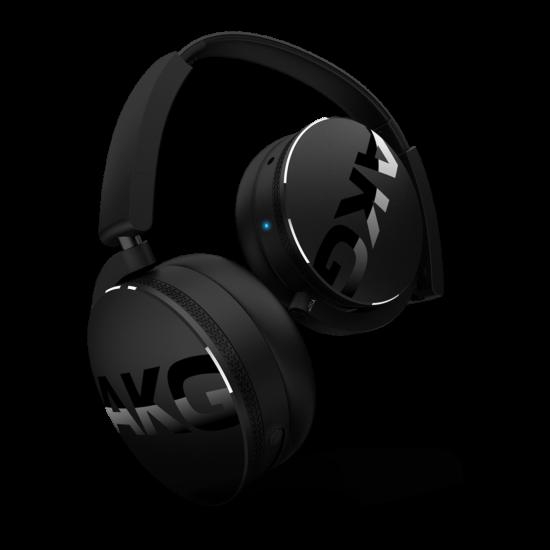 AKG Y50BT Bluetooth fejhallgató, fekete