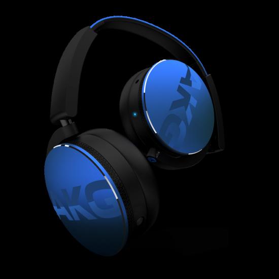 AKG Y50BT Bluetooth fejhallgató, kék