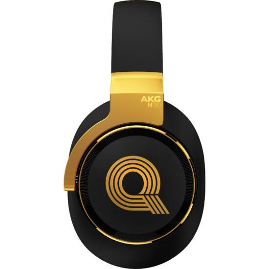 AKG N90Q Quincy Jones High-end fejhallgató-arany/fekete