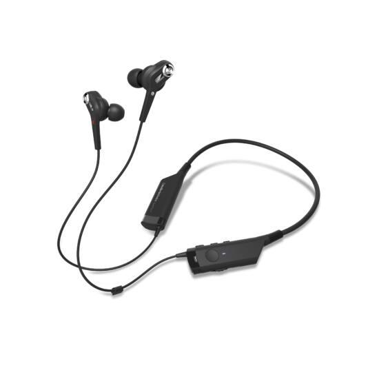 Audio-Technika ATH-ANC40BT Bluetooth-os Noise Cancelling Fülhallgató, fekete