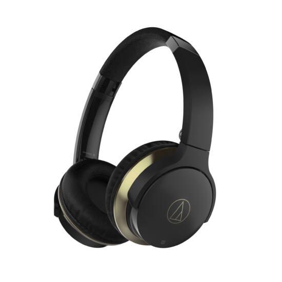 Audio-technica ATH-AR3BT vezeték nélküli fejhallgató, fekete