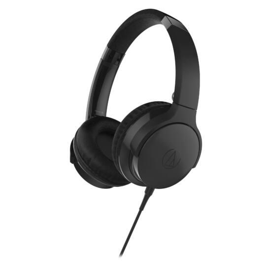 Audio-technica ATH-AR3iS hordozható fejhallgató, fekete