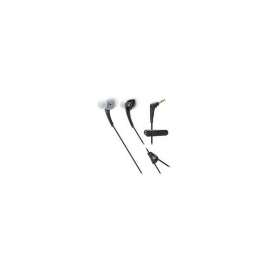 Audio-technica ATH-SPORT2BK sport füllhallgató, fekete