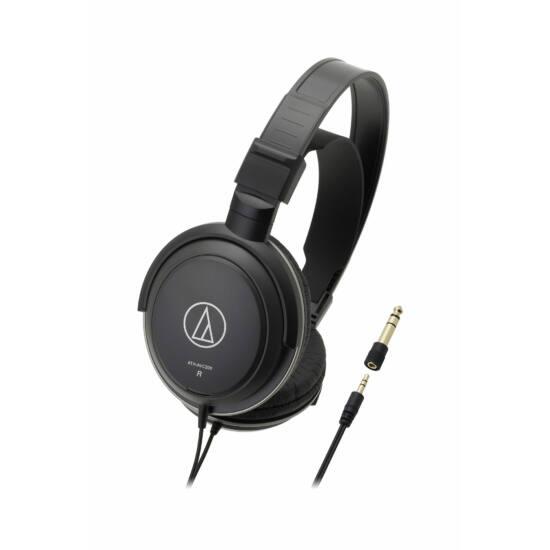 Audio-Technica ATH-AVC200 fejhallgató, fekete