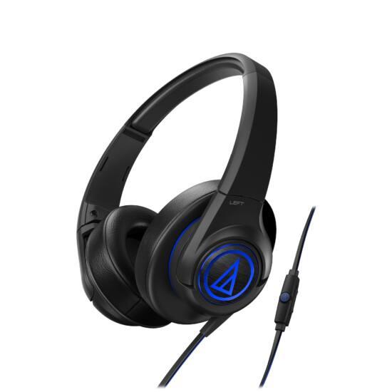 Audio-Technica ATH-AX5IS fejhallgató, fekete
