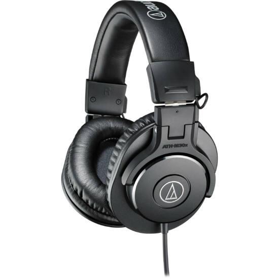 Audio-Technica ATH-M30X fejhallgató, fekete
