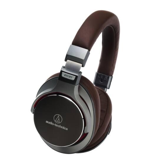 Audio-technica ATH-MSR7 fejhallgató, fegyverszürke/barna Bolti bemutató darab