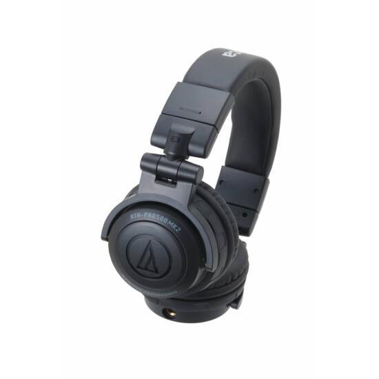 Audio-Technica ATH-PRO500MK2 fejhallgató, fekete