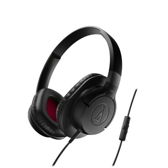 Audio-Technica ATH-AX1IS fejhallgató, fekete