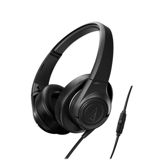 Audio-Technica ATH-AX3IS fejhallgató, fekete