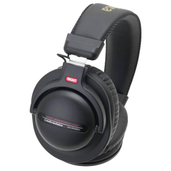 Audio-Technica ATH-PRO5MK3 fejhallgató, fekete