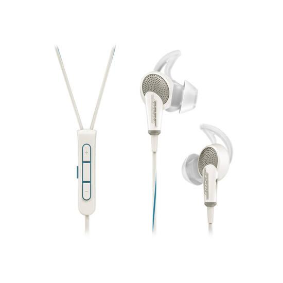 Bose QuietComfort 20 Acoustic Noise Cancelling fülhallgató Apple kompatibilis, fehér Bolti bemutató darab