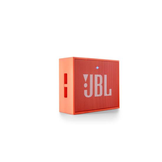 JBL GO hordozható bluetooth hangszóró, narancssárga