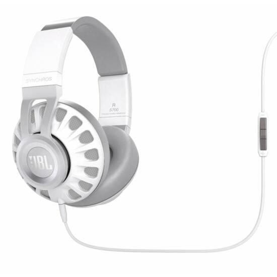 JBL Synchros S700 fejhallgató, fehér (Bemutató darab)
