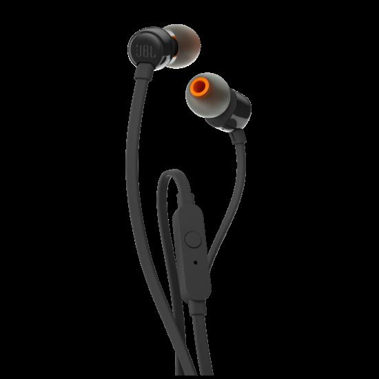 JBL T110 fülhallgató, fekete