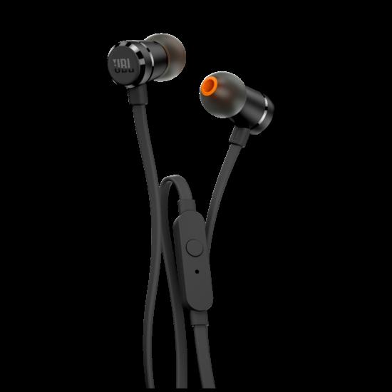 JBL T290 fülhallgató, fekete (Bemutató darab)