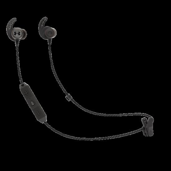 JBL Under Armour REACT bluetooth sportfülhallgató, fekete (Bemutató darab)