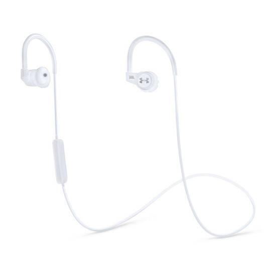 JBL Under Armour bluetooth sportfülhallgató, pulzusméréssel, fehér