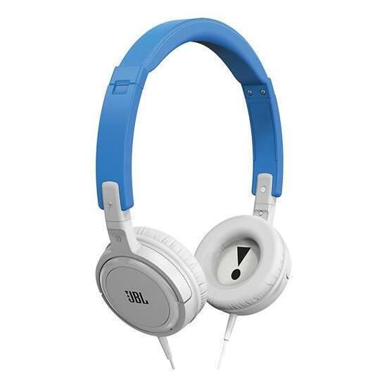 JBL T300 fejhallgató, kék