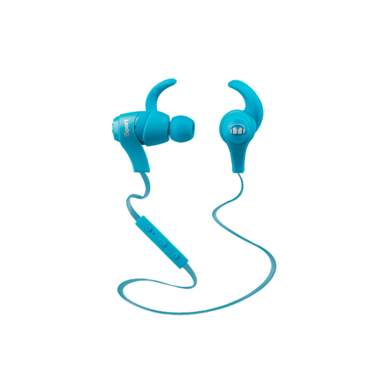 Monster iSport Wireless In-Ear kék