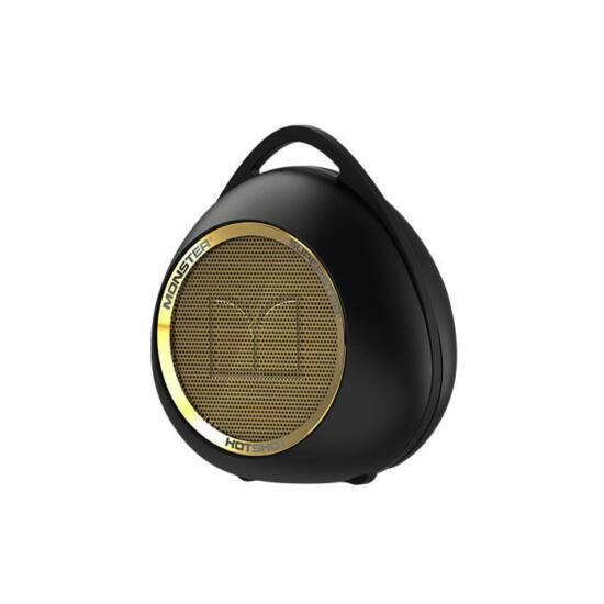Monster SuperStar HotShot Hordozható hangsugárzó, fekete-arany