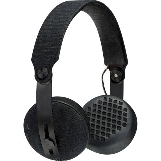 Marley EM-JH111-BK Rise On-Ear BT fejhallgató fekete (Bemutató darab)