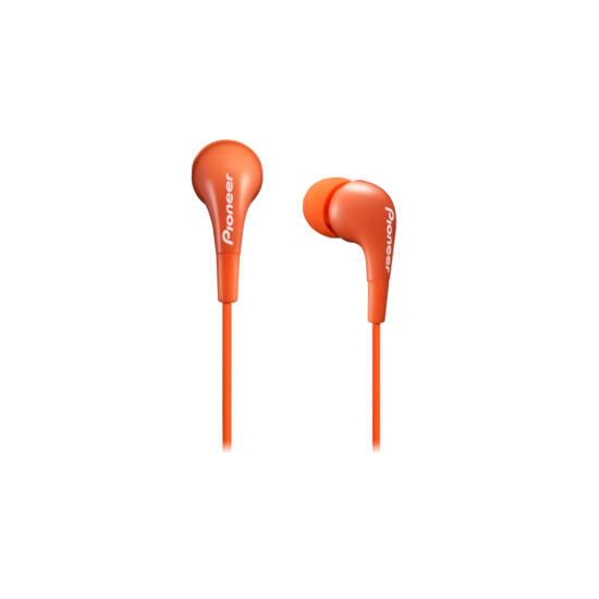 Pioneer SE-CL502 fülhallgató, narancs