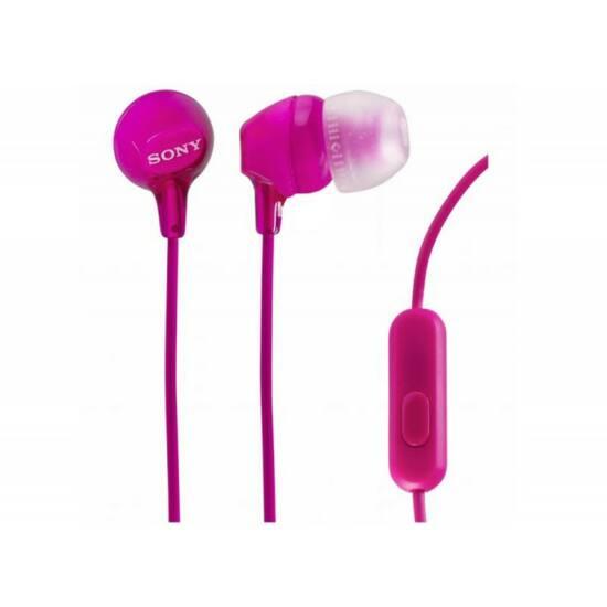 Sony MDR-EX15AP-PNK fehér fülhallgató