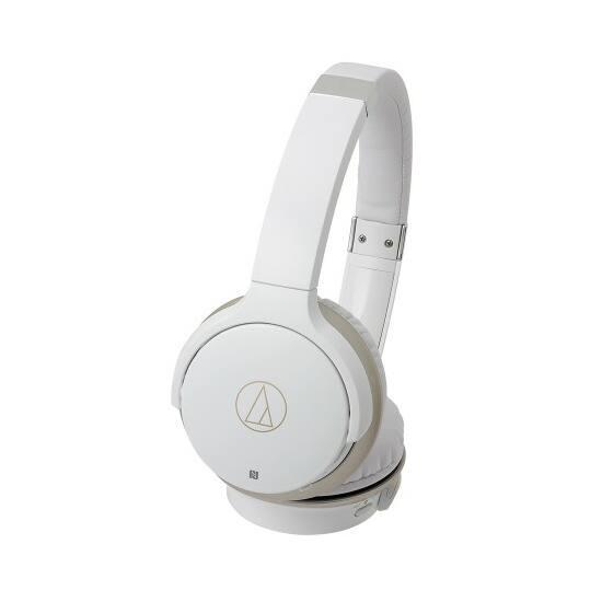 Audio-technica ATH-AR3BT vezeték nélküli fejhallgató, fehér