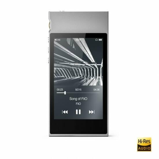 FIIO M7 lejátszó FM rádióval, ezüst