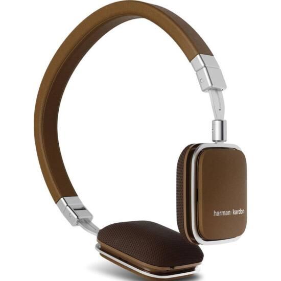 Harman Kardon Soho Android vezérlős fejhallgató, barna (Bemutató darab)