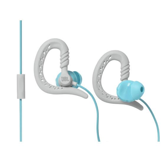 JBL Focus 300 sport fülhallgató, türkiz (Bemutató darab)