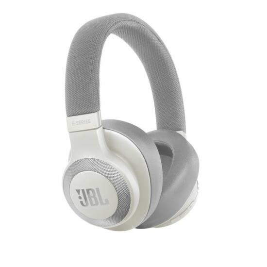 JBL E65 BT NC aktív zajszűréses fejhallgató, fehér (Bemutató darab)