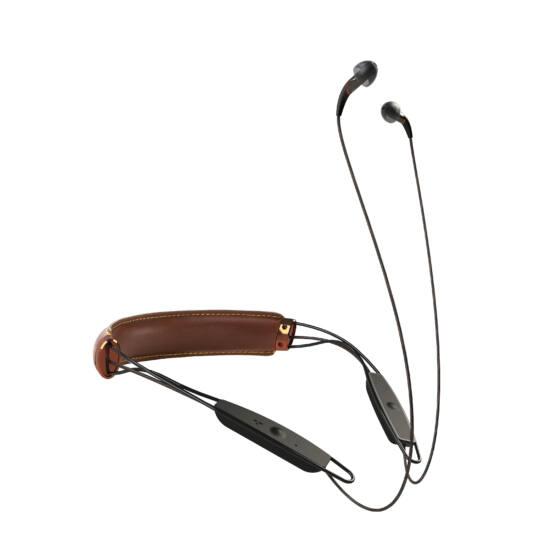 Klipsch X12 bluetooth-os nyakpántos fülhallgató barna