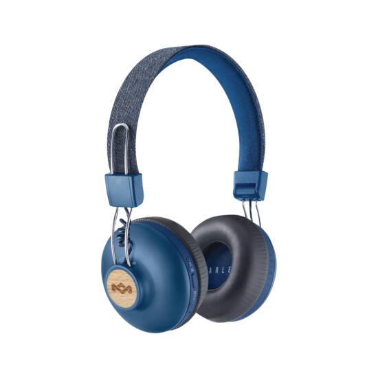 Marley Positive Vibration 2 (EM-JH133-DN) Bluetooth fejhallgató, denim