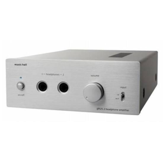 Music Hall ph25.2 előerősítő és fejhallgató erősítő ezüst