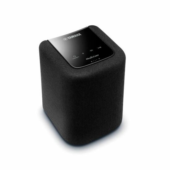 Yamaha WX-010 MusicCast vezeték nélküli HD audio hangszóró, fekete
