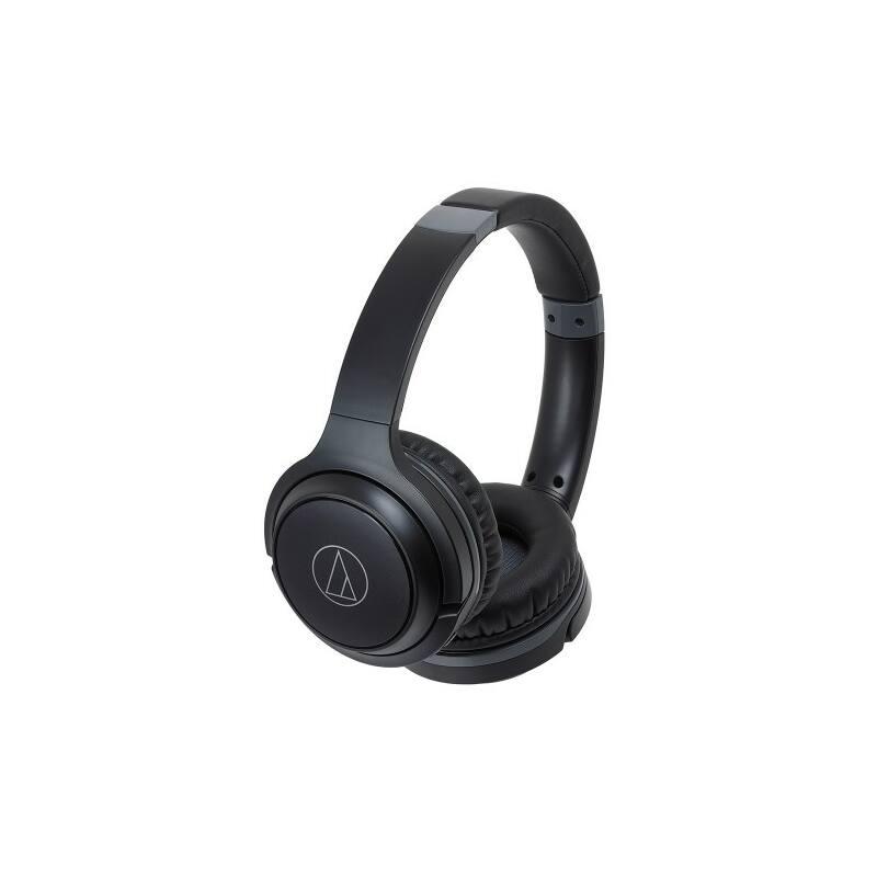 Audio-technica ATH-S200BT vezeték nélküli fejhallgató, fekete