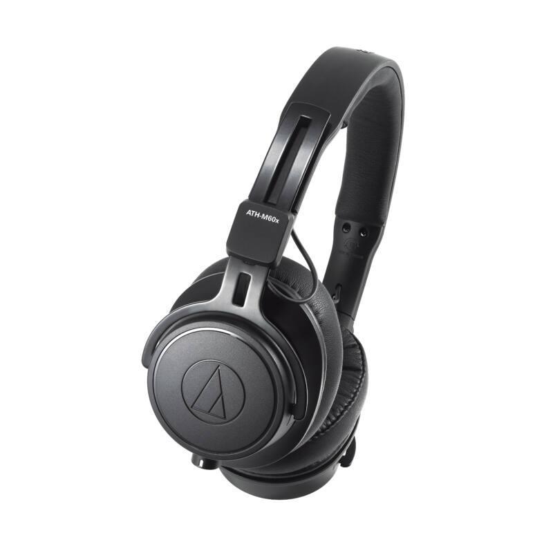 Audio-Technica ATH-M60X Professzionális fejhallgató, fekete