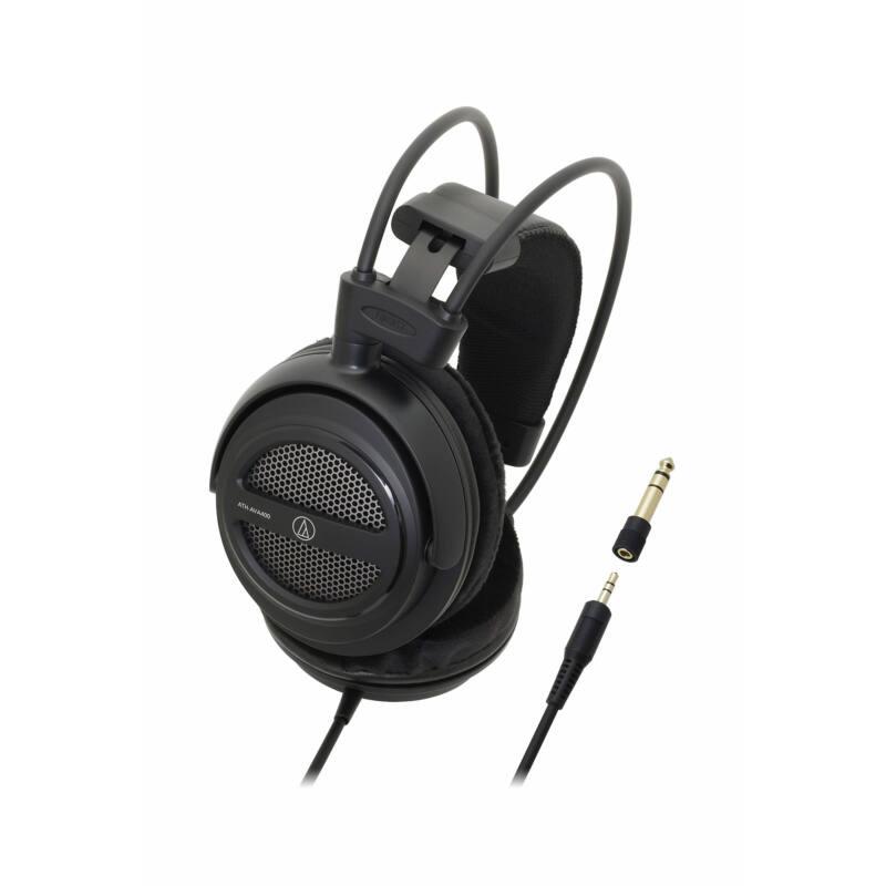 Audio-Technica ATH-AVA400 fejhallgató, fekete
