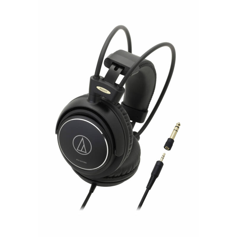 Audio-Technica ATH-AVC500 fejhallgató, fekete