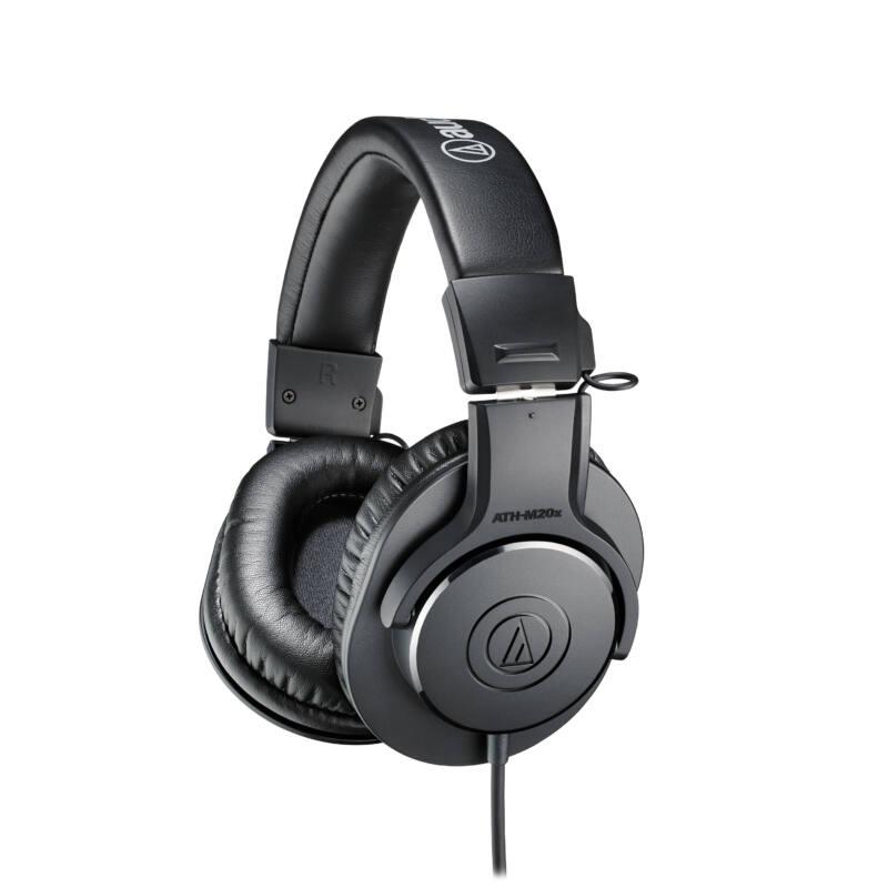 Audio-Technica ATH-M20X fejhallgató, fekete