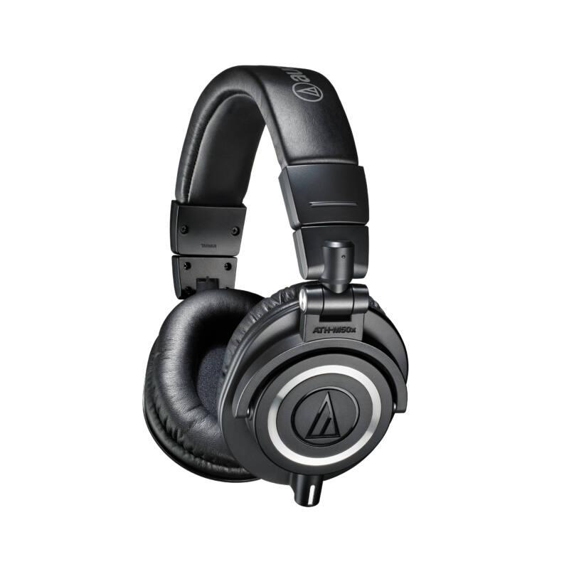 Audio-Technica ATH-M50X fejhallgató, fekete (Bemutató darab)