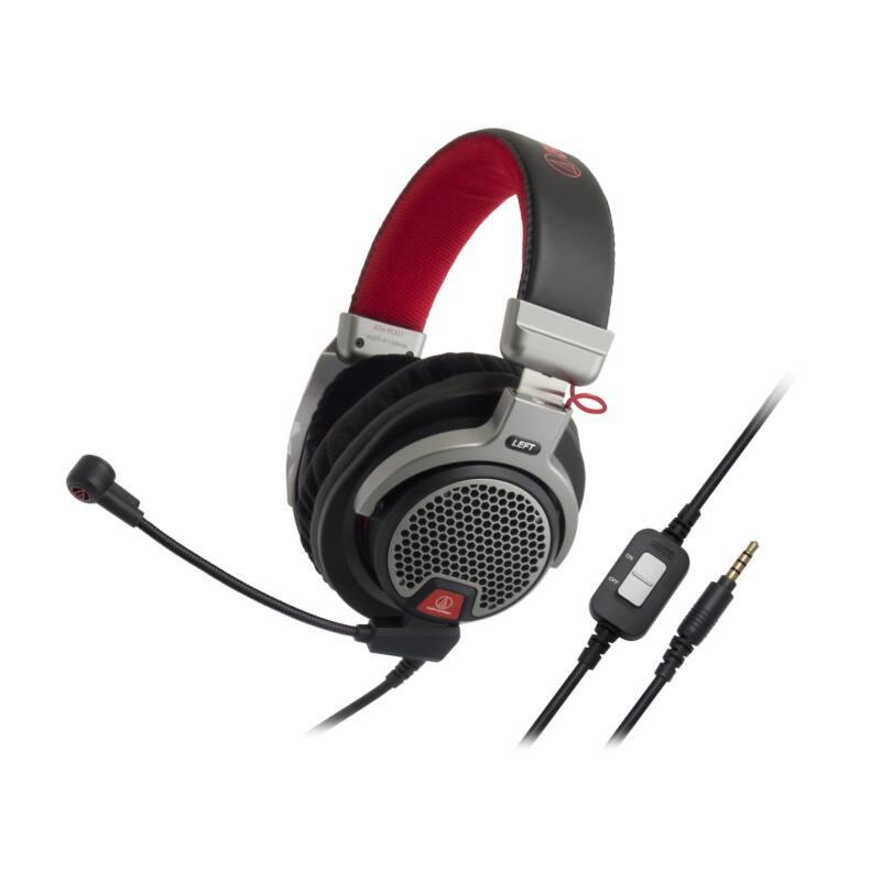 Audio-Technica ATH-PDG1 Premium Gaming Fejhallgató, fekete