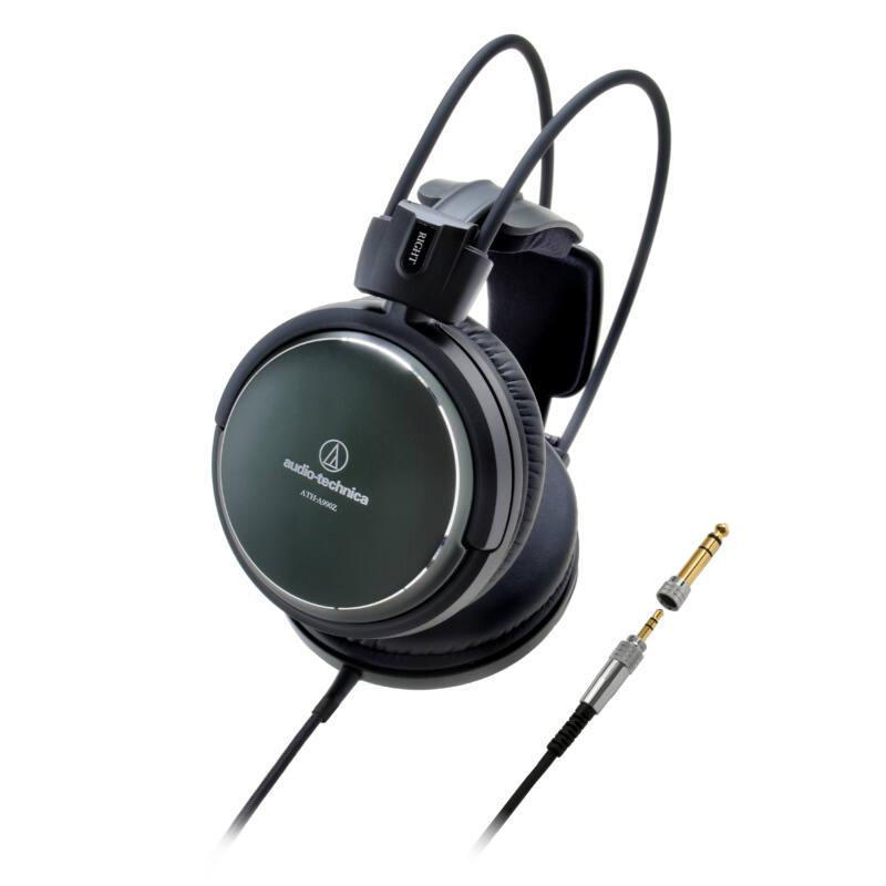 Audio-Technica ATH-A990Z ART Monitor zárt hifi fejhallgató Hi-Res Audio, fekete